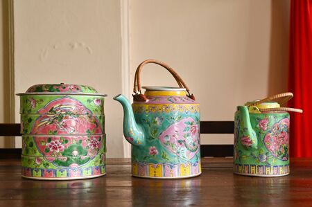 Traditional style teapot, Phuket, Thailand