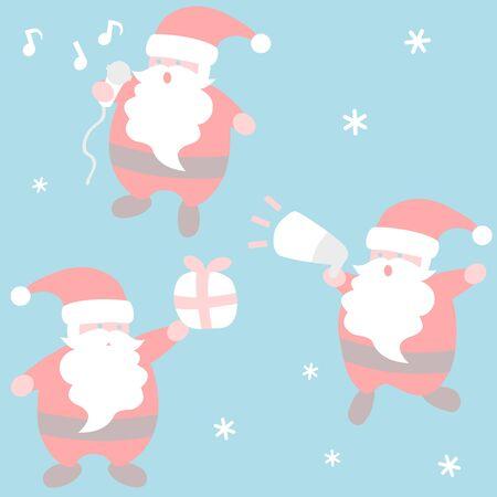 Santa Claus activities - Christmas set
