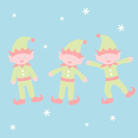 Dancing elf - Christmas set