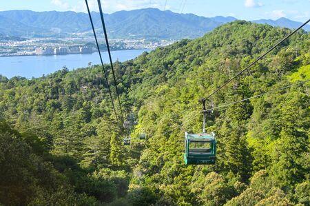 Miyajima ropeway, Hiroshima, Japan