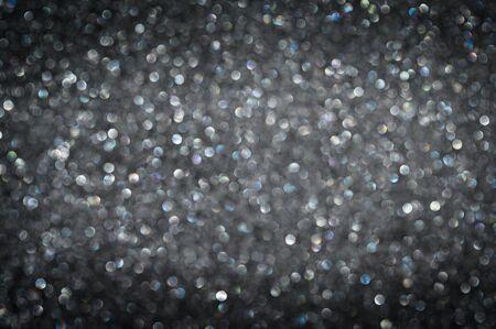 Black glitter for black Friday background - defocus