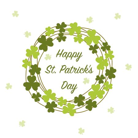 Saint Patrick Day frame