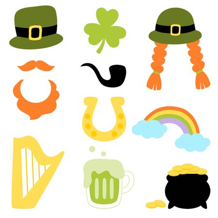 Saint Patrick's Day symbol collection