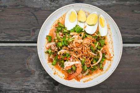 Winged Bean spicy salad - Thai food
