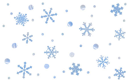Snowflake paper cut background - isolated Zdjęcie Seryjne