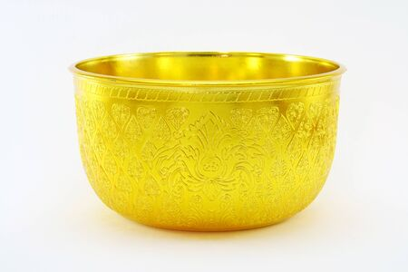 bronze bowl: Golden bowl