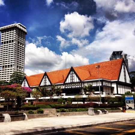 merdeka: A building near Merdeka square Kuala Lumpur Stock Photo