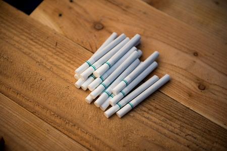 harmful: Smoking is harmful to life Stock Photo