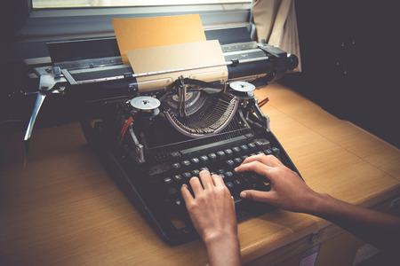 schrijfmachine Stockfoto