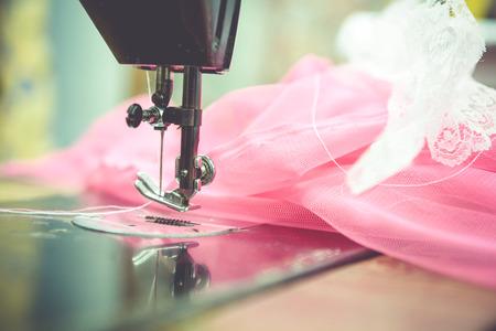 Tailoring kleding en merkkleding. Stockfoto