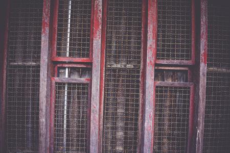 steel door: old steel door Stock Photo