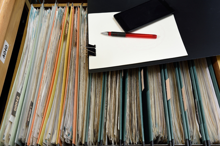 Office Files,An Extremely Easy To Use Filing System Stock Photo, Picture  And Royalty Free Image. Image 45693815.