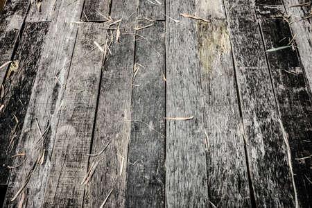 grunge wood: Wood background vintage,The old wooden bridge used