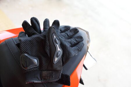 domestic workers: Guantes de conducci�n en bicicleta