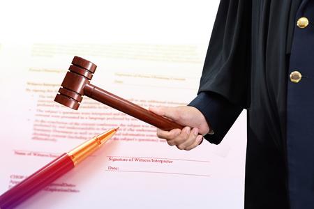 rechtvaardigheid, een rechterlijke uitspraak