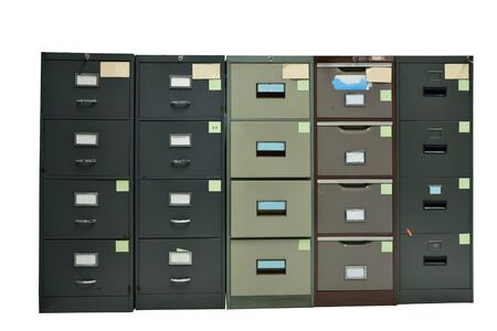 filing document: Filing cabinet,For document storage isolated background