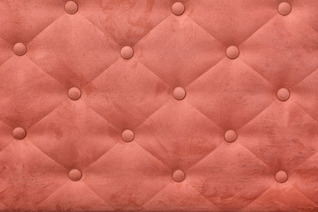 buttoned: leather texture background with buttoned pattern,For use as a background model. Stock Photo