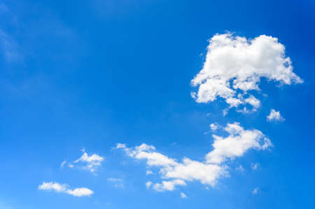 Landscape of Cloudy Sky clear beauty atmosphere summer day abstract background