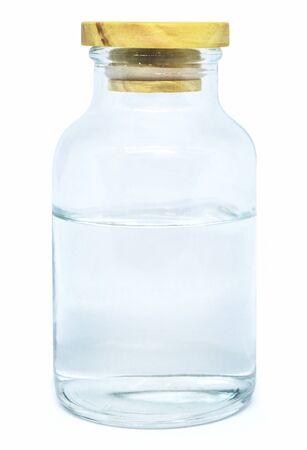 Bottle on white background isolated Banco de Imagens