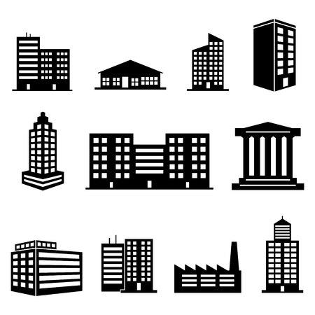 construccion: Iconos del edificio