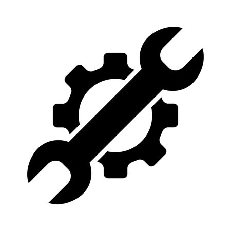 Service icon Ilustracja