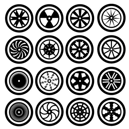 alloy wheel: Car Wheel Icons