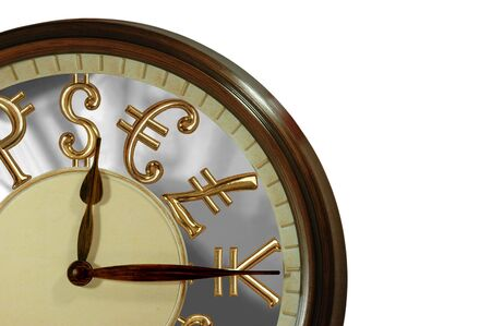 Time is money! A clock with golden international currency signs as numbers Stock Photo - 3142755