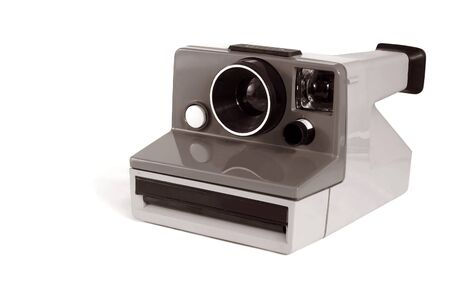 An old instant camera Stock Photo