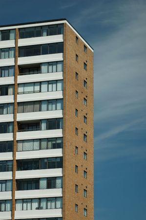 An apartment building photo