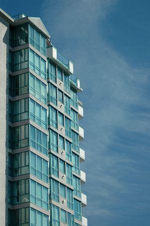 Facade of a building photo