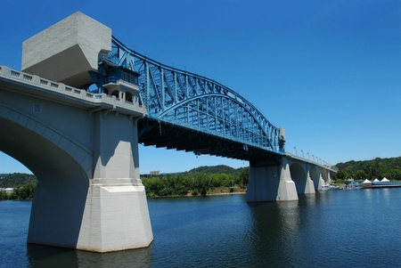 Walnut Street Bridge across Tennessee River