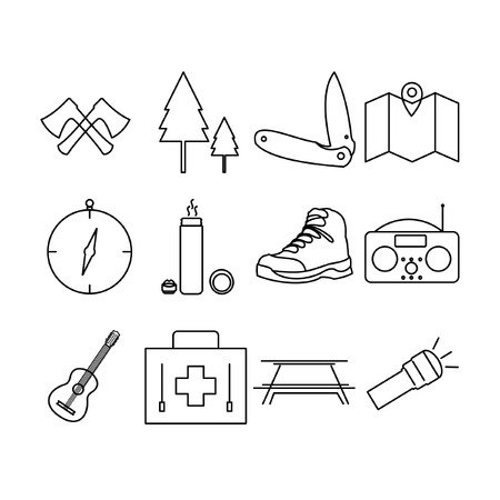 Camping Icon Set II