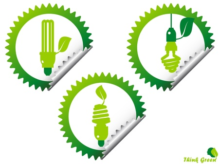 ecology, energy, environment, green grow, growth, icon Stock Vector - 11217214