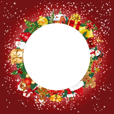 Christmas set Stock Vector - 11582311
