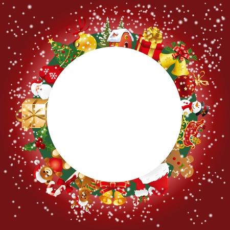 snow man party: Christmas set