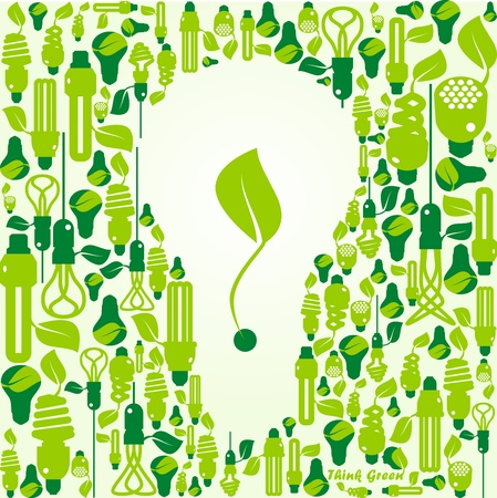 ecology, energy, environment, green grow, growth, icon Vector