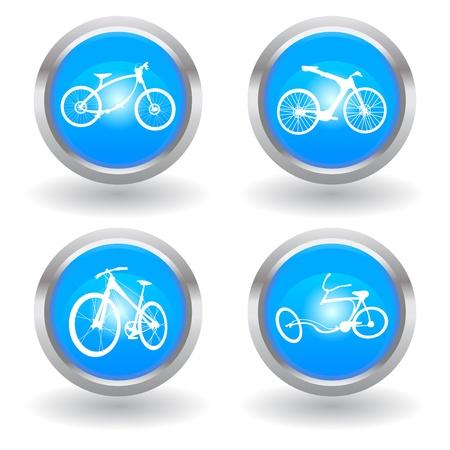 love modern bike icon Stock Vector - 11583180