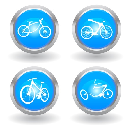 sports attire: love modern bike icon Illustration