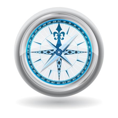 exploratie, kompas, verkennen, navigatie