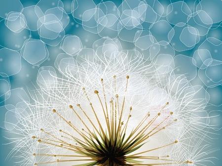 dekor: flower, garden Illustration