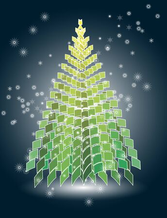 christmas tree Stock Vector - 11583221