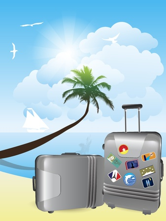 Travel Oceania Vector