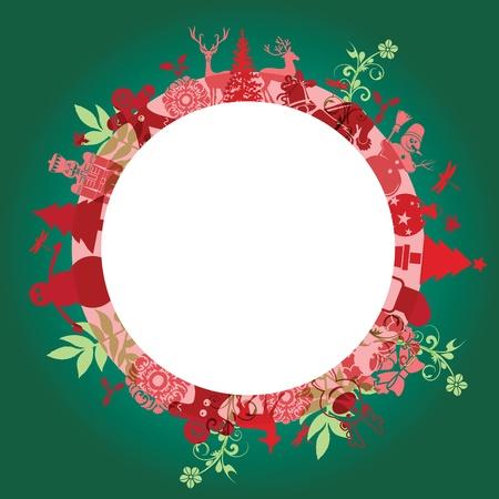 Christmas set Stock Vector - 11582403