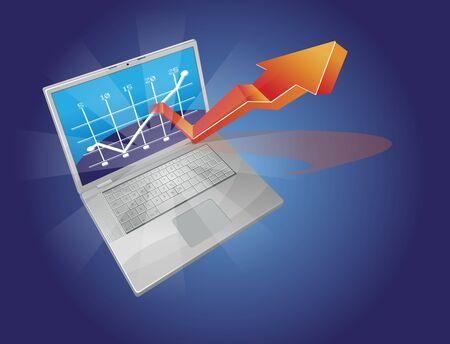 business , data, design, digital, display Stock Vector - 11583231
