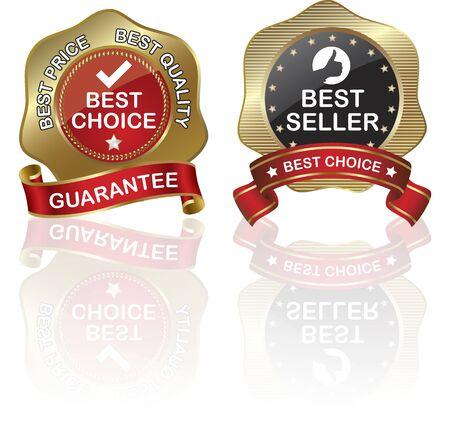golden, guarantee Stock Vector - 11583250