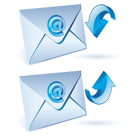 e-mail, email, envelope Stock Vector - 11583264