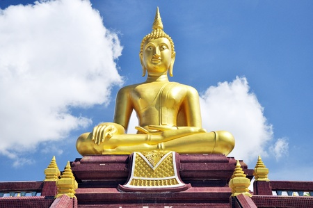 Statue of Buddha in Thailand photo