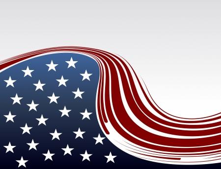 americana: USA Presidential Election background