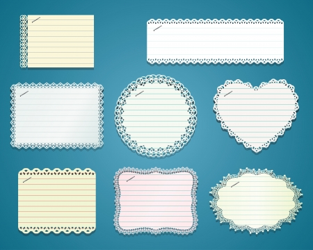 collection Lacework paper frame Imagens - 16185847