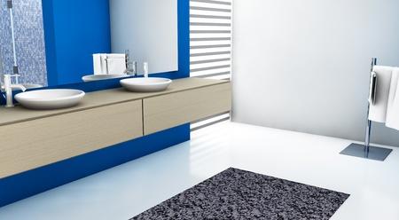 Bagno moderno bianco e blu piastrelle bagno blu e bianche best